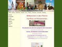 Pfarren Hanfthal und Wulzeshofen - Startseite