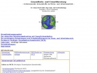 Gesundheits- und Umweltberatung