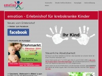emotion - Erlebnishof für krebskranke Kinder