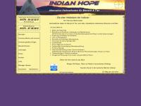 Indian-hope.de - Alternative Heilmethoden für Mensch und Tier mit alten Heilweisen der Indianer