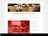Blog &uuml;ber Marketing f&uuml;r Restaurants