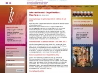 Organfestival.nl - Internationaal Orgelfestival Haarlem - Internation Organfestival Haarlem