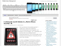 Mobile Device Management (MDM), Mobile Business, Smartphones im Unternehmen