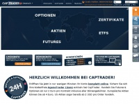 Captrader.com - CapTrader Home | Online Broker, Stocks, ETFs, Futures, Options, Bonds | Captrader