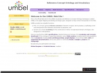 Umbel.org - Welcome to the UMBEL Web SiteUMBEL