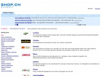 SHOP.CH - Shopping in der Schweiz: Online Shops