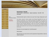 Kostenlose ebooks gratis ebook kostenlos, free Pdf download