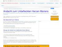 herz-mariä-sühnesamstag.de