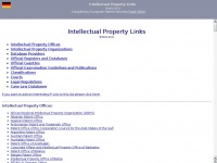 Ip-links.de - Intellectual Property Links compiled by Patent Attorney Ralph Beier