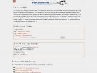 Corrado Page und VW Corradoforum - das Original