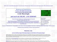 Angela Wagner: EP, NLG und EMG-Kurse, Elektrophysiologie und klinische Neurophysiologie