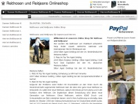 Reithose-jeans-reitjeans.de - Jeans Reithosen und Reitjeans mit verlegter Innennaht