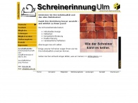 Schreinerinnung Ulm - Startseite