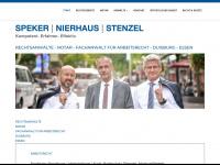 Speker Nierhaus Stenzel-Rechtsanwälte-Notar-Fachanwalt für Arbeitsrecht-Duisburg