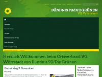 BÜNDNIS90/DIE GRÜNEN OV in VG Wörrstadt: Startseite