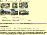 Wolfgang-gruenewald.de - Exklusive Ferienhäuser am Meer in Breskens/Holland - Exklusive Ferienhäuser in Breskens/Zeeland