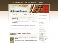 metascriptum.de