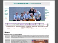 JAZZBURGERS, Zürich, Switzerland: Fine Old-Time-Jazz, Dixieland, New-Orleans, Ragtime, Boogie und Swing.