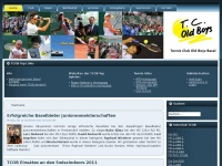 Tennis Club Old Boys Basel Schweiz - TCOB - TC Old Boys