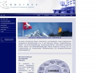 Convinus.com - CONVINUS - Der Partner für international tätige Unternehmen (Steuern - Sozialversicherung - Vergütung - Vorsorge - Payroll - Arbeitsbewilligungen - International Assignment Management / Expatriates)