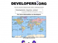 DEVELOPERS.ORG » Web, Software, Buildings, Retail, Commercial Developers