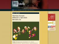 Jazz i dä Fabrik - Tolle Konzerte jeden ersten Mittwoch im Monat