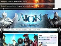 Aionfreetoplay.com - AION Free-to-Play