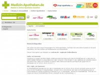 Medizin-apotheken.de - Medizin - Apotheken . de - Medizin - Apotheken . de - Preisvergleich für Online-Apotheken
