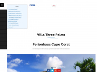 Ferienhaus Cape Coral - Villa Three Palms - Ferienvilla Florida