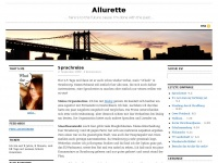 Allurette.de - Allurettehere&rsquo;s to the future cause I&rsquo;m done with the past&hellip;