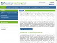 rechtschutzversicherungen.com Thumbnail