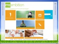 Msambition.de - DIE KARRIEREPLATTFORM f. Microsoft Jobs, IT Jobs, Job Börse, Jobboerse