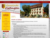 Opfingen.info - Informationen über Freiburg-Opfingen