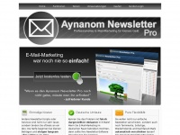 Aynanom Newsletter Software - PHP Newsletter-Software (Script)