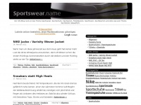 SPORTSWEAR