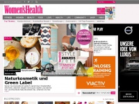 Fitness, Fashion &amp; Beauty f&uuml;r sportliche Frauen : Home  - Women&#039;s Health
