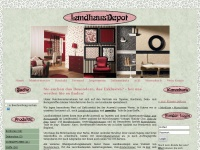 Landhausdepot.de - Tapeten, Bord&uuml;ren, Stoffe, Wandsticker &amp; vieles mehr im Landhausstil