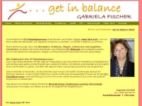 get in balance - Gabriela FISCHER