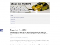 Blogger Auto Award | Deutsche Auto Blogger w&auml;hlen Ihre Autos des Jahres
