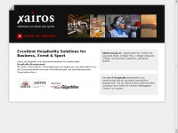 Hospitality Management | Xairos - Excellent Hospitality Management for Business, Event & Sport