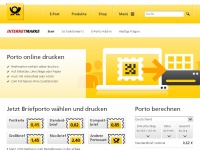 Internetmarke.de - Deutsche Post | Internetmarke | Online Porto drucken