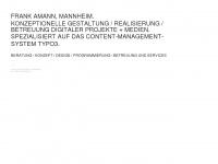 HERR AMANN | Raum Für Gestaltungsformen // FRANK AMANN Mannheim | Studio für Gestaltung, Art DireKtion und Produktion