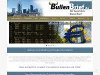 Bullenbrief - Der besondere Börsenbrief - wöchentlicher Aktienbrief - kostenloser Börsenbrief - Analyse im Börsenbrief