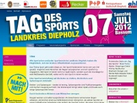 Tag des Sports: Home