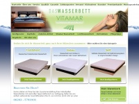 Daswasserbett.de - Das Wasserbett - Gesund schlafen hat einen Namen: Vitamar