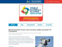 World Baseball Classic 2012 Qualifier Regensburg, Bavaria, Germany