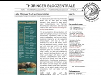 TH&Uuml;RINGER BLOGZENTRALE