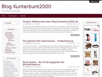 Eine kunterbunte Webseite &rsaquo; Blog Kunterbunt2000