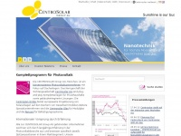 CENTROSOLAR Group AG: Startseite