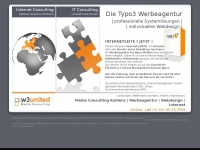 Werbeagentur Koblenz | Webdesign | Multimedia | SEO | CMS | LMS | typo3 | WordPress |  ILIAS | Moodle  : w3united